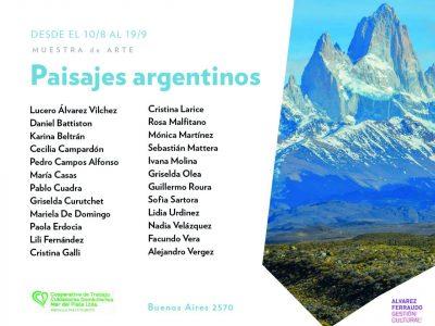 «PAISAJES ARGENTINOS»